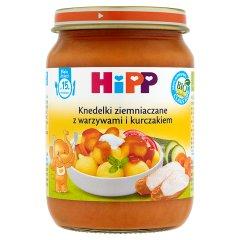 Danie Hipp knedelki ziemniaczane z warzywami i kurczakiem bio
