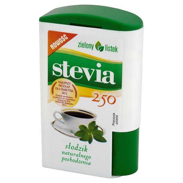 Słodzik zielony listek naturalny 250 tabletek