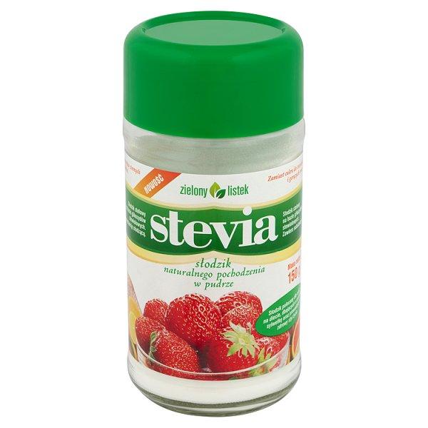 Zielony listek Stevia Słodzik naturalnego pochodzenia w pudrze 150 g