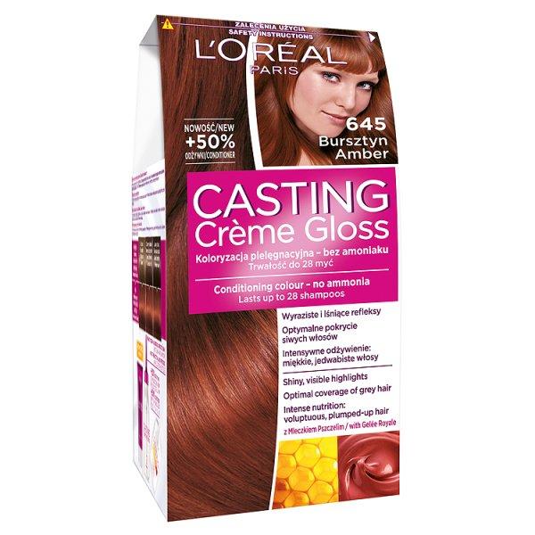 Farba L'oreal Casting Creme Gloss 645 - Bursztyn