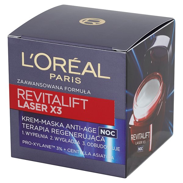 Krem L'oreal Revitalift Laser x3 na noc