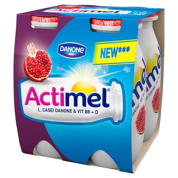 Mleko fermentowane actimel granat 4*100g/400g