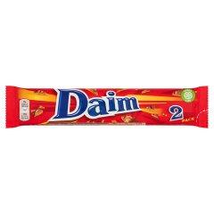 Baton Daim 2pack maślano migdałowy oblany czekoladą