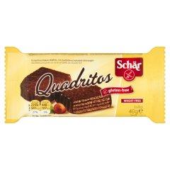 Wafelki bezglutenowe czekoladowe Quadritos