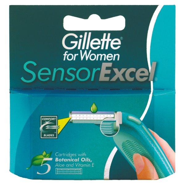 Wkłady Gillette sensor Excel women
