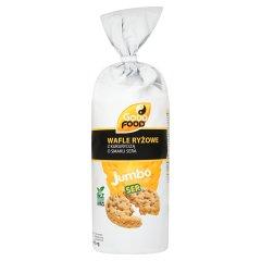Wafle ryżowe Good Food Jumbo ser cheddar