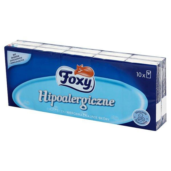 Chusteczki Foxy hipoalergiczne