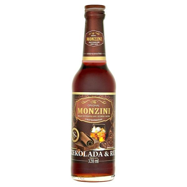 Monzini Czekolada & Rum Syrop barmański 320 ml