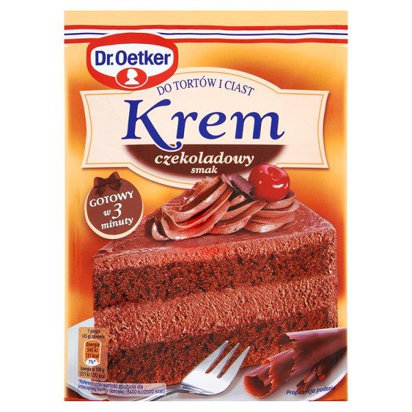 Krem do tortów Dr.Oetker czekoladowy