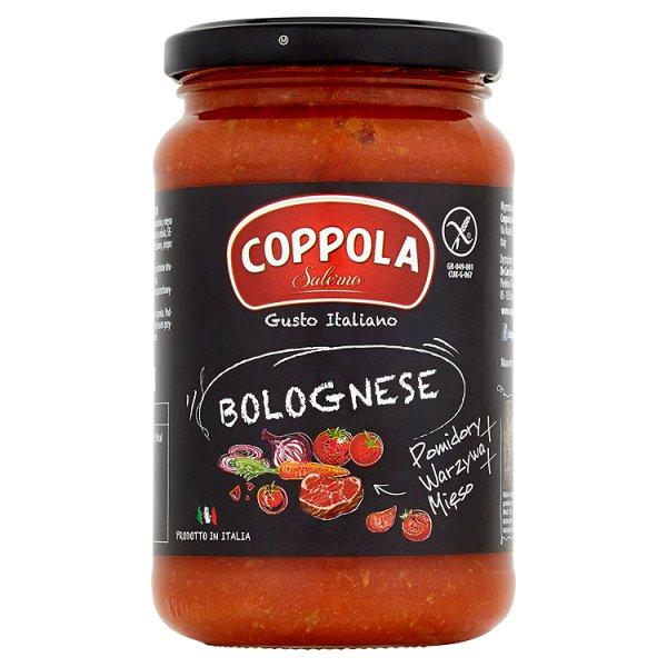 Coppola Bolognese Sos pomidorowy z warzywami i mięsem 350 g