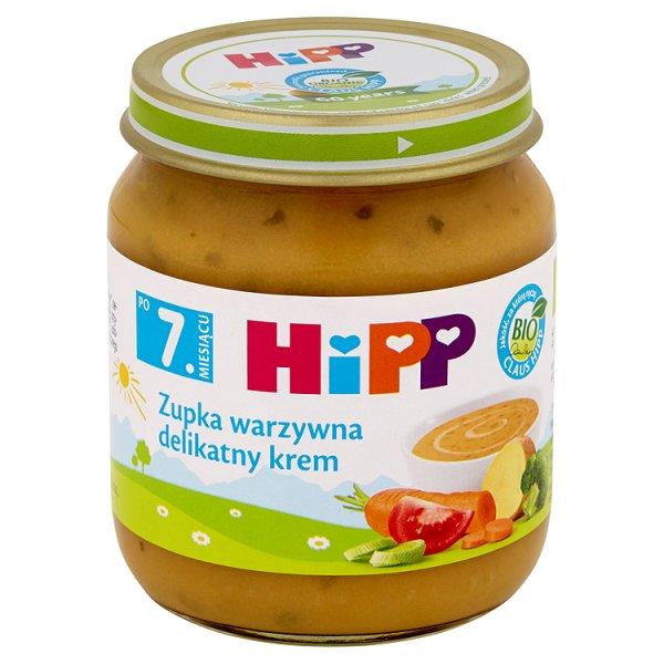 Zupka Hipp warzywna delikatny krem