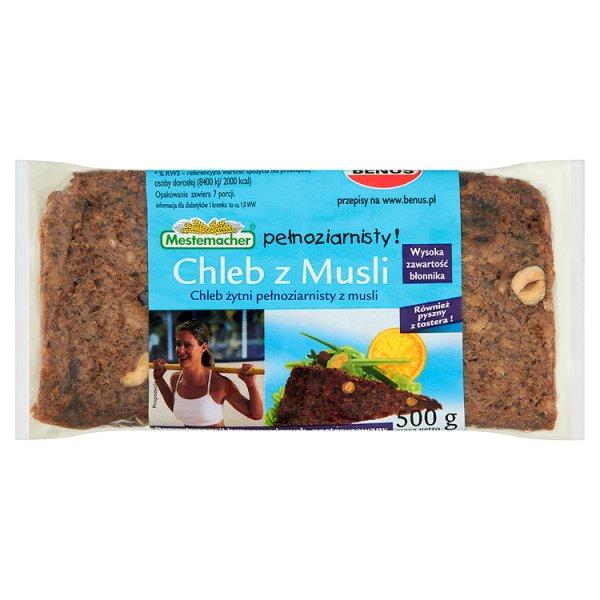 Chleb Mestemacher z musli