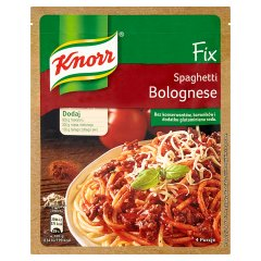 Fix knorr do spaghetti bolognese