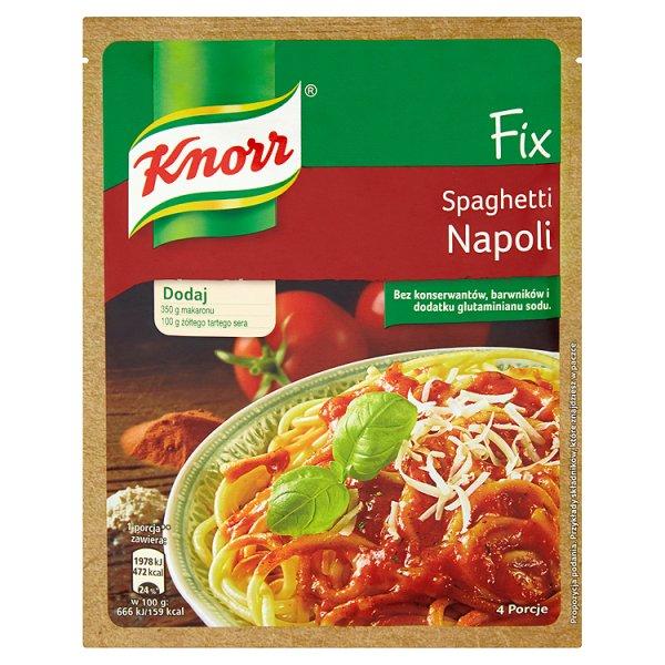 Fix Knorr spaghetti napoli