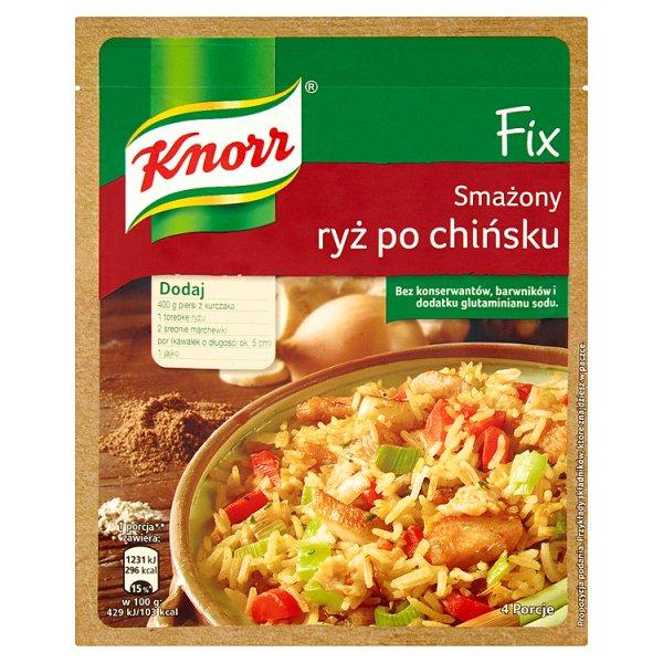 Fix Knorr smażony ryż po chińsku