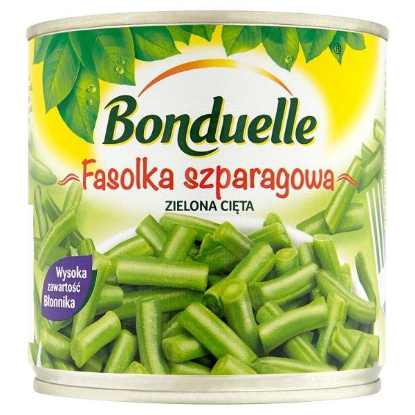 Bonduelle Fasolka szparagowa zielona cięta 400 g