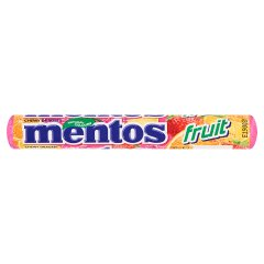 Mentos Fruit Cukierki do żucia o smaku owocowym 38 g