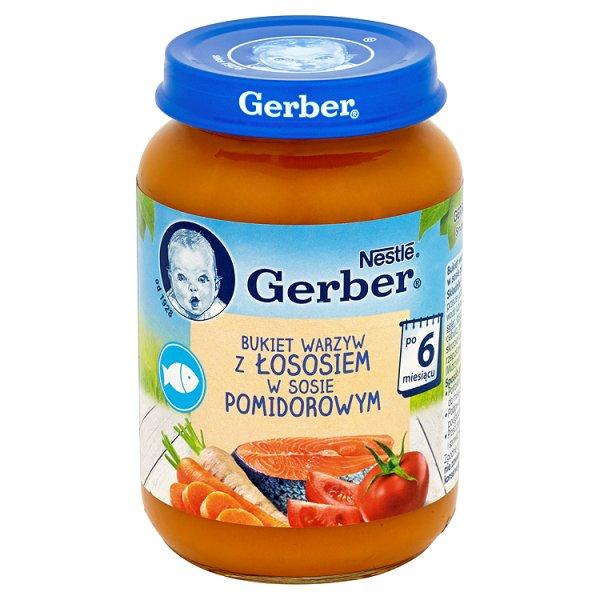 Danie Gerber Bukiet warzyw z rybką w sosie pomidorowym