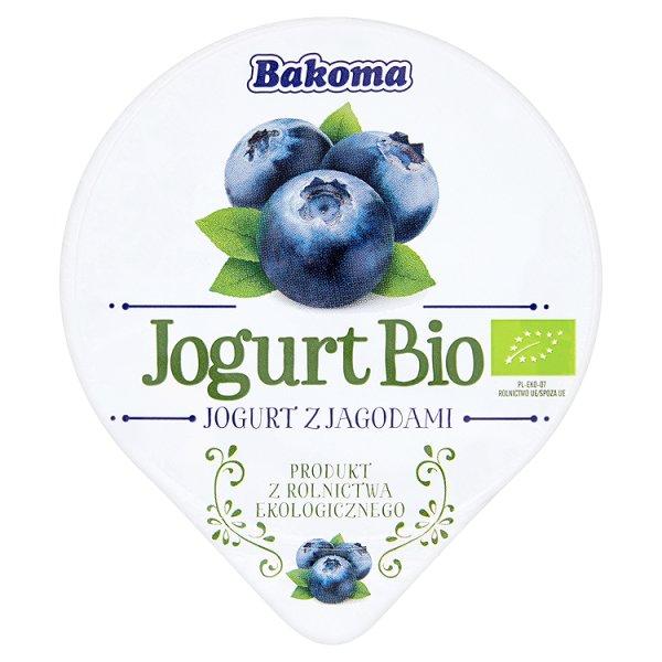 Bakoma Jogurt Bio z jagodami 140 g
