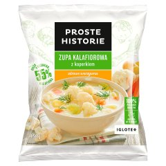 Zupa kalafiorowa z koperkiem proste historie /450g