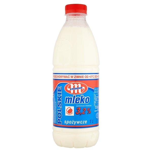 Mlekovita Mleko Polskie spożywcze 3,2% 1 l