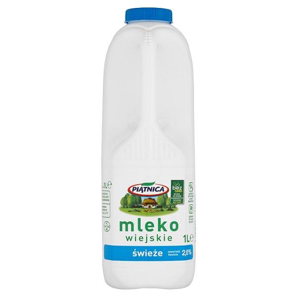 Mleko świeże wiejskie 2% Piątnica