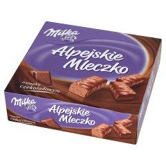 Milka Alpejskie Mleczko Pianka o smaku czekoladowym 330 g