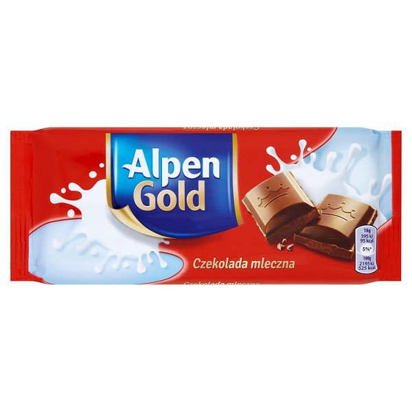 Czekolada Alpen Gold Mleczna