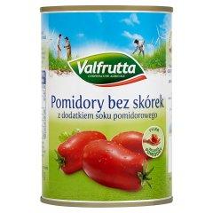 Valfrutta Pomidory bez skórek z dodatkiem soku pomidorowego 400 g