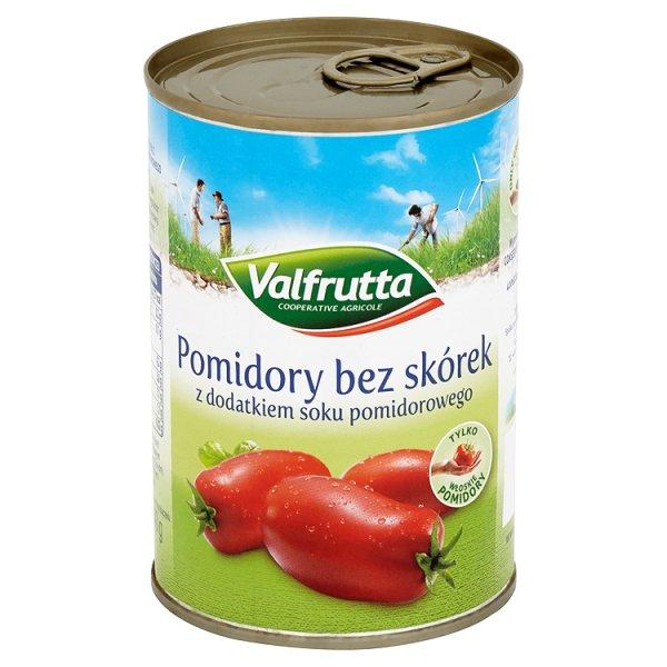 Pomidory Valfrutta bez skórek