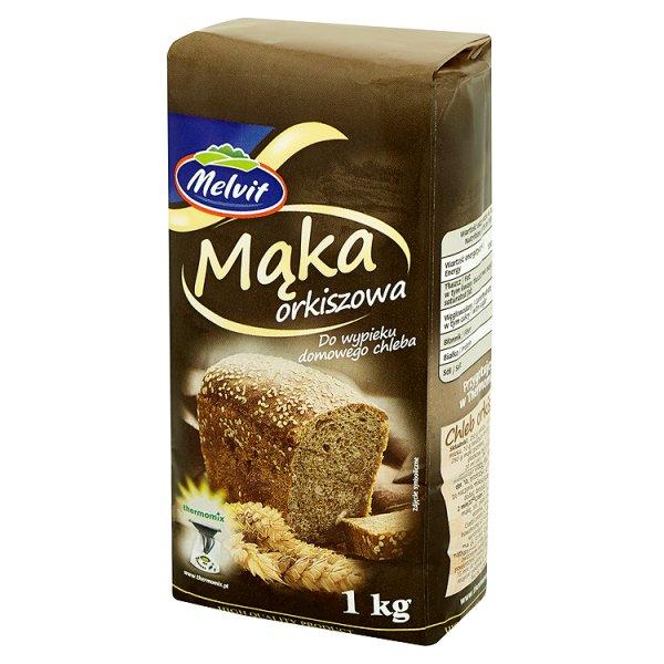 Melvit Mąka orkiszowa do wypieku domowego chleba 1 kg