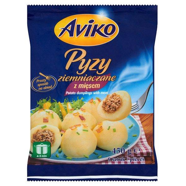 Pyzy z mięsem Aviko