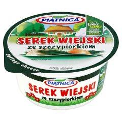 Serek Wiejski ze szczypiorkiem