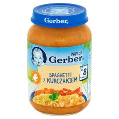 Danie Gerber spaghetti z kurczakiem