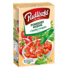 Pomidory pudliszki kroj. baz-oreg.390g