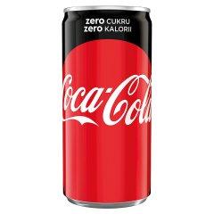 Coca-Cola zero Napój gazowany 200 ml
