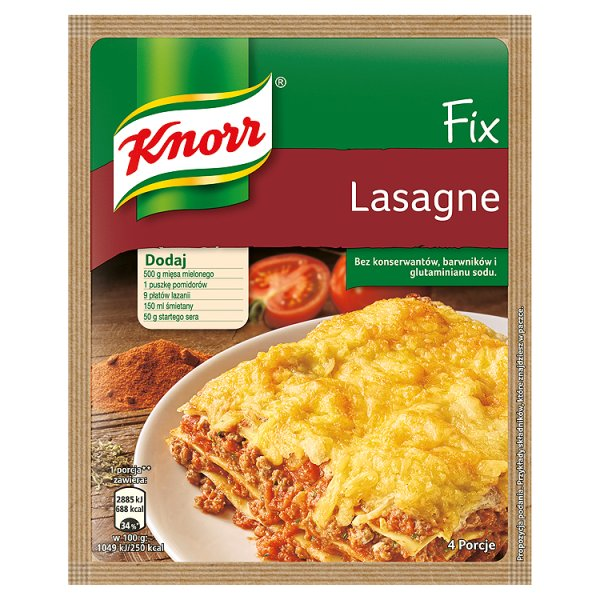 Fix Knorr Lasagne