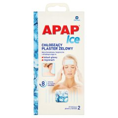 Apap Ice Chłodzący plaster żelowy 2 sztuki