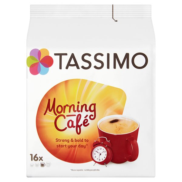 Tassimo Morning Café Kawa mielona 124,8 g (16 kapsułek)