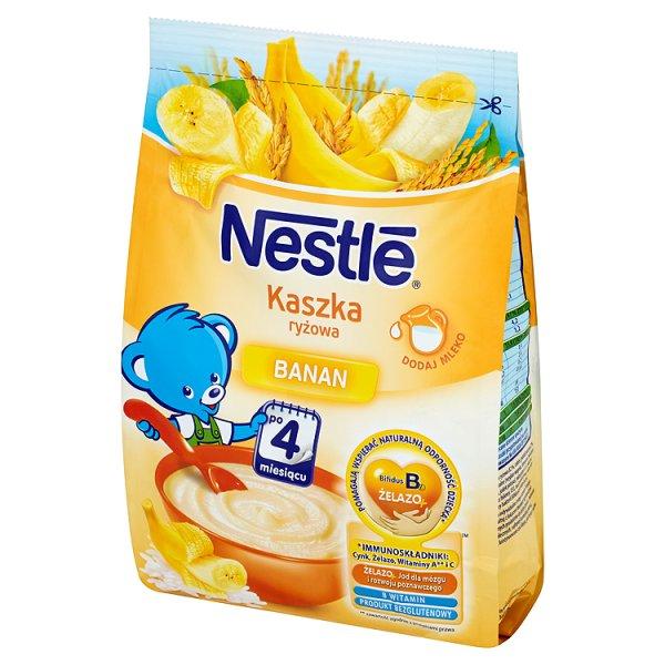 Kaszka Nestle ryżowa z bananami
