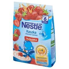 Kaszka Nestle mleczno-ryżowa z truskawkami