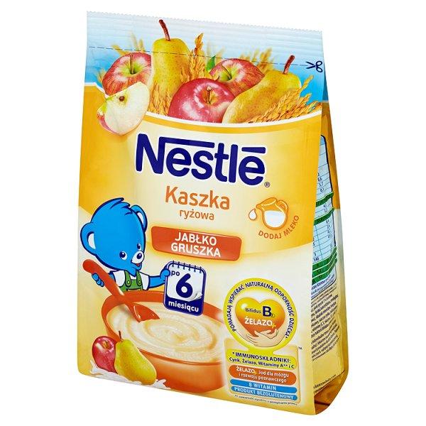 Kaszka Nestle ryżowa z jabłkami i gruszkami