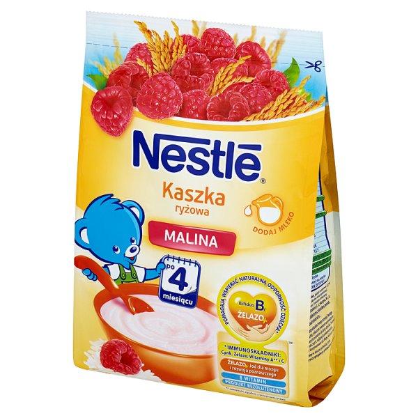 Kaszka Nestle ryżowa z malinami