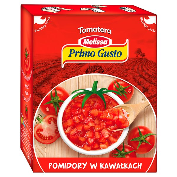 Pomidory w kawałkach Primo Gusto