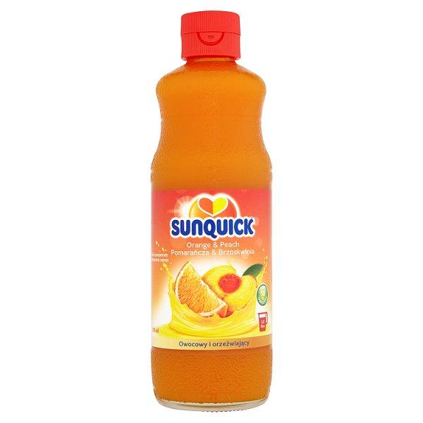 Napój Sunquick brzoskwiniowo - pomarańczowy