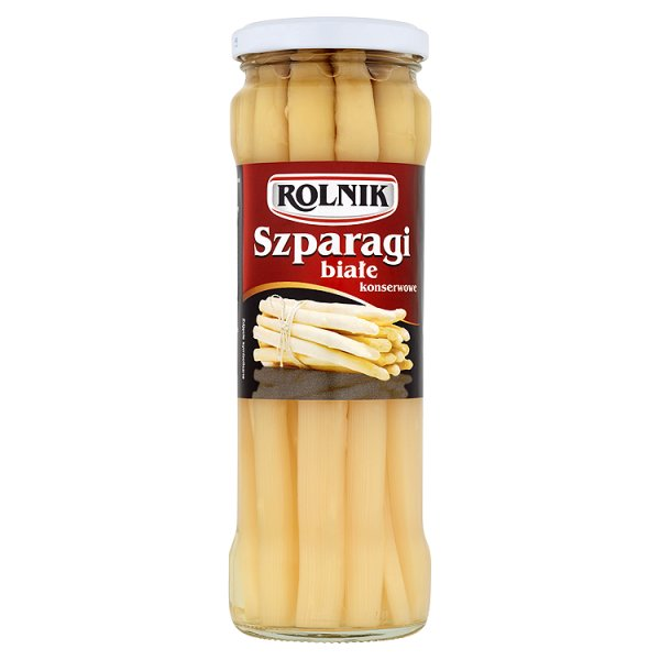 Rolnik Szparagi białe konserwowe 330 g