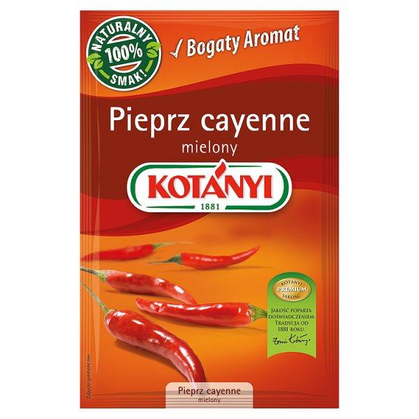 Kotányi Pieprz cayenne mielony 20 g