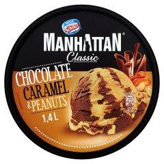 Lody Manhattan czekoladowo  - karmelowo - orzechowe