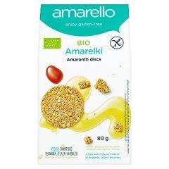Amarello amarelki bezglutenowe 80 g bio