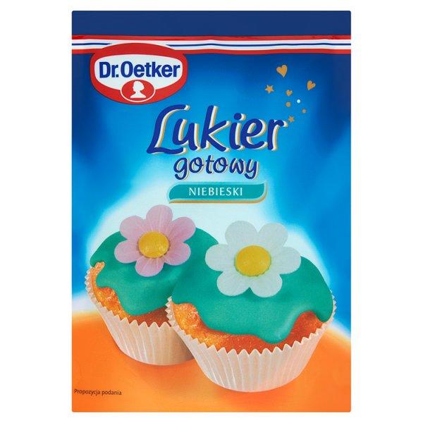 Lukier niebieski dr.oetker